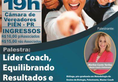 Palestra Líder Coach: Como Equilibrar Relações e Resultados